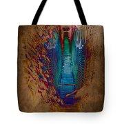 Abstract Path Tote Bag