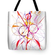 Abstract Pen Drawing Fifty-one Tote Bag