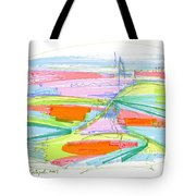 Abstract Pen Drawing Forty-three Tote Bag