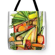 Abstract Pen Drawing Sixty-two Tote Bag