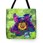 Abstract Peonies Tote Bag