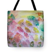 Abstract Petals Tote Bag