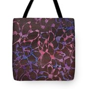 Abstract Pink And Purple Tote Bag