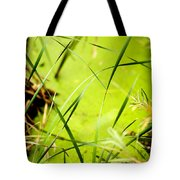 Abstract Pond Scum Tote Bag