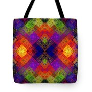 Abstract - Rainbow Connection - Panel - Panorama - Horizontal Tote Bag