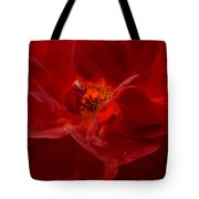 Abstract Red Rose 1a Tote Bag