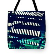 Abstract Reflection 8 Tote Bag by Sarah Loft