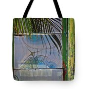 Abstract Reflection Tote Bag