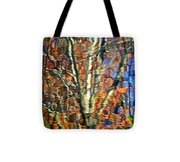 Abstract Reflection Photo Tote Bag