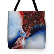 Abstract Rendezvous Tote Bag