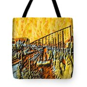 Abstract Roller Coaster Tote Bag