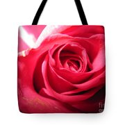 Abstract Rose 4 Tote Bag