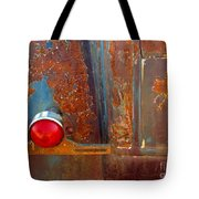 Abstract Rust Tote Bag