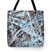 Abstract Scribble Pattern On Stone Tote Bag