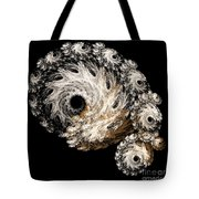 Abstract Seashell Tote Bag