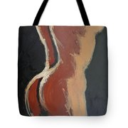 Abstract Sienna Torso - Female Nude Tote Bag