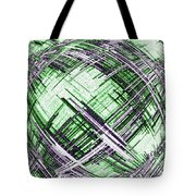 Abstract Spherical Design Tote Bag