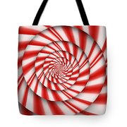 Abstract - Spirals - The Power Of Mint Tote Bag
