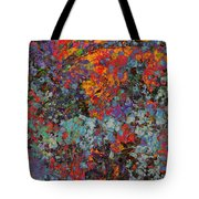 Abstract Spring Tote Bag