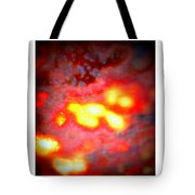Abstract Stained Glass In The Raw Tote Bag