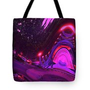 Abstract Street Scene Tote Bag