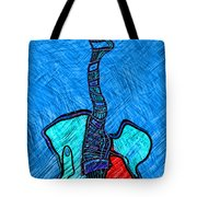 Abstract Strings 4 Tote Bag
