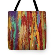 Abstract Sunset Over Tuscany  Tote Bag