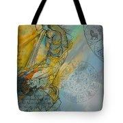 Abstract Tarot Art 015 Tote Bag