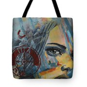 Abstract Tarot Art 022a Tote Bag