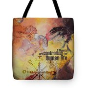Abstract Tarot Art 023 Tote Bag