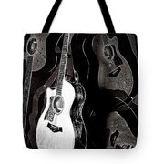 Abstract Taylor Guitars Tote Bag
