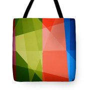 Abstract Transparency Tote Bag