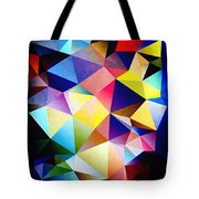 Abstract Triangles And Texture Tote Bag