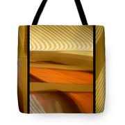 Abstract Triptych - Omaha Library Building Tote Bag