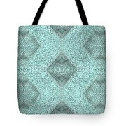 Abstract Urban City In Knot Boxes From Cube 01 Tote Bag