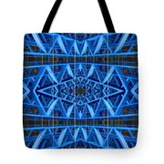 Abstract Urban Constructions Watercolor On Paper Tote Bag