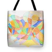 Abstract Virgin Birth Tote Bag