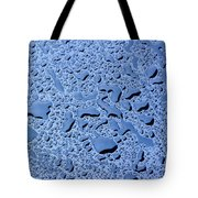 Abstract Water Drops Tote Bag