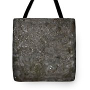 Abstract Water Spill Tote Bag