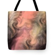 Abstract Watercolor And Ink Digital Painting Tote Bag