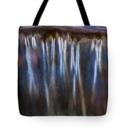 Abstract Waterfalls Childs National Park Painted  Tote Bag