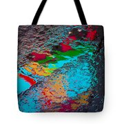 Abstract Wet Pavement Tote Bag