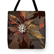 Abstract Whispering Leaves Tote Bag