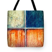 Abstract Window Tote Bag