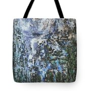 Abstract Winter Landscape Tote Bag