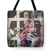 Abstract Woman 001 Tote Bag