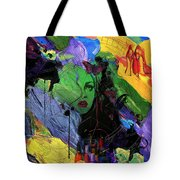 Abstract Women 014 Tote Bag