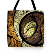 Abstract Wood Grain Tote Bag