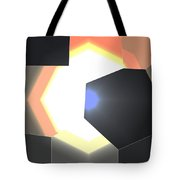 Abstract Work Tote Bag