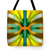 Abstract Yellowtree Symmetry Tote Bag